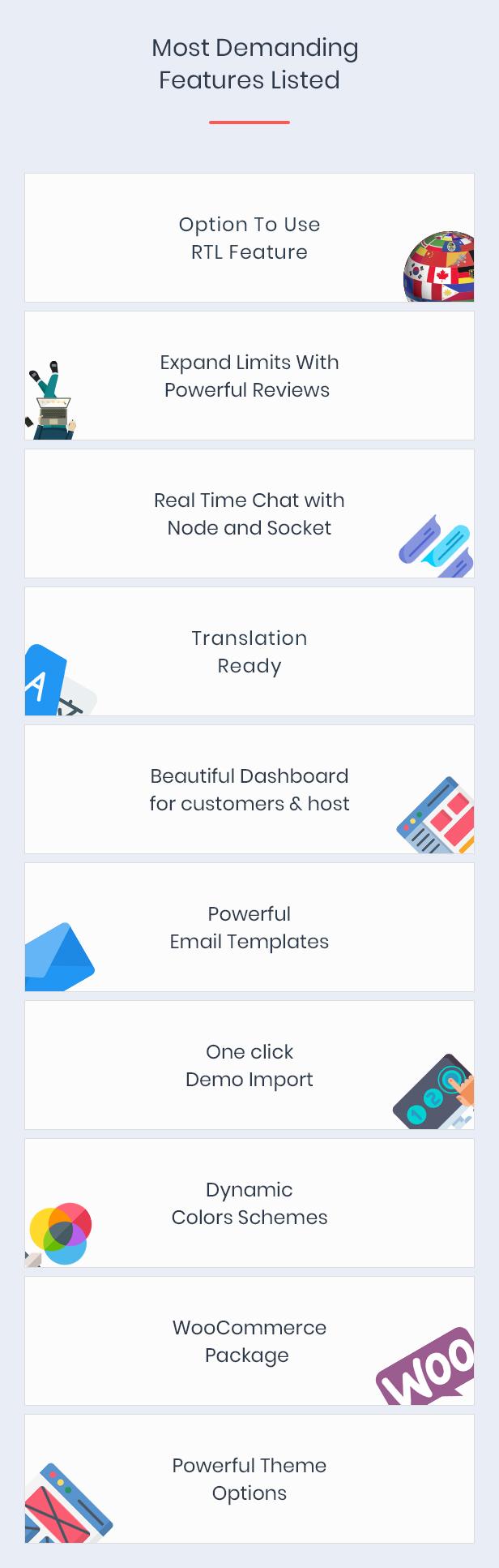 Houzillo - Bookings and Rental WordPress Theme - 11
